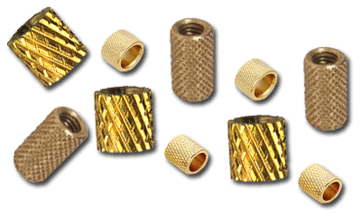 Helical Knurled Inserts